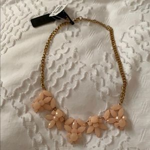 Peachy- pink J. Crew necklace